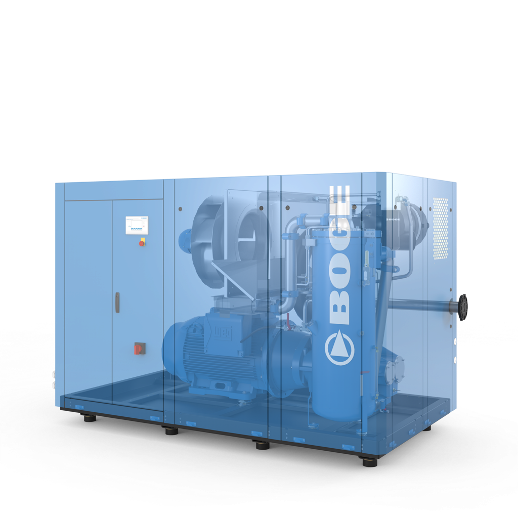 BOGE S-111-4-LF Screw Compressor