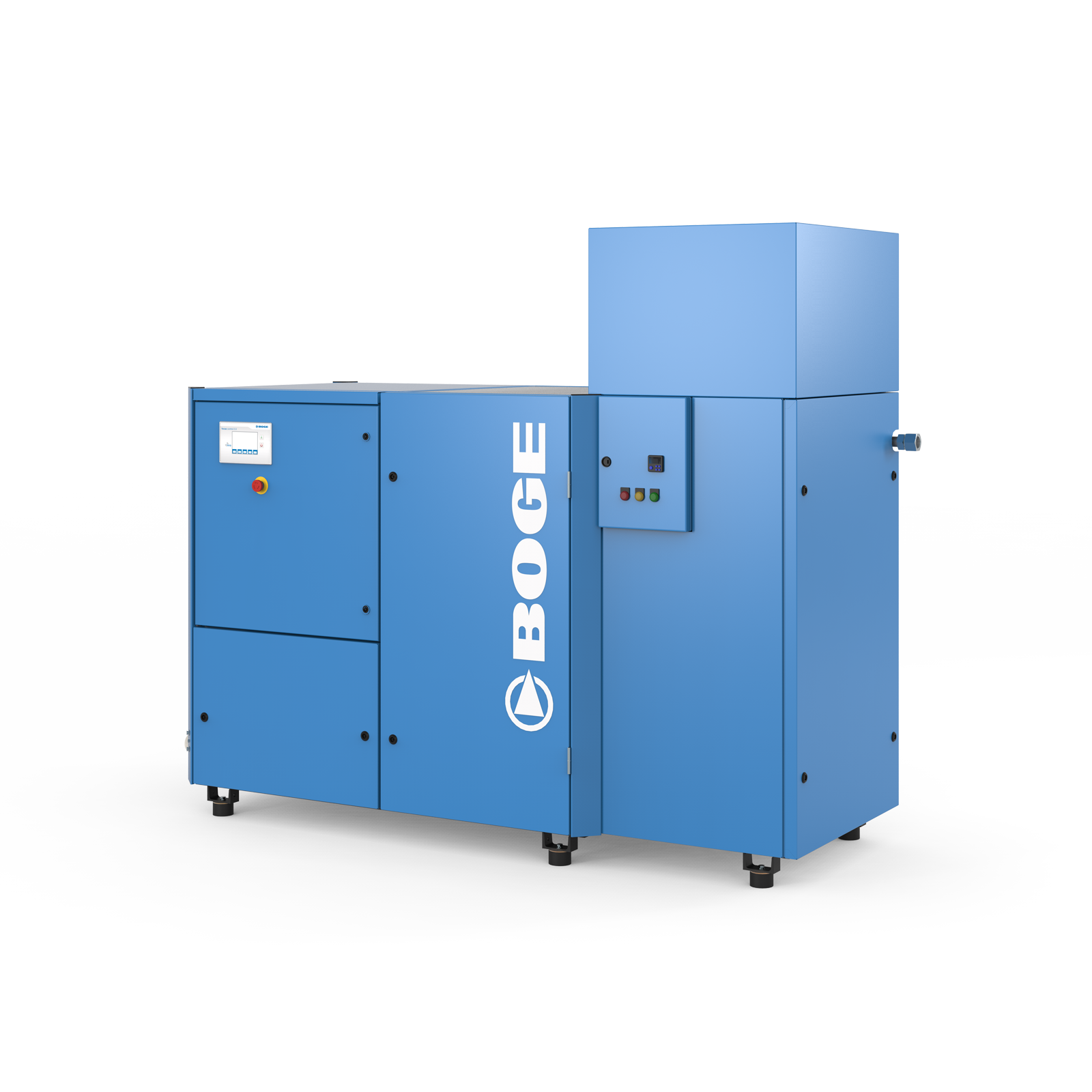 BOGE S-40-3 Bluekat Oil Free Screw Compressor