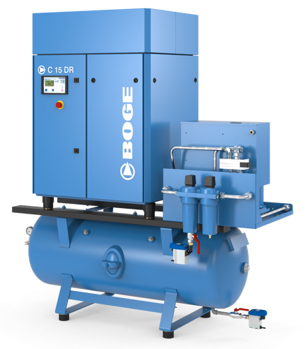 BOGE C15DR Screw Compressor