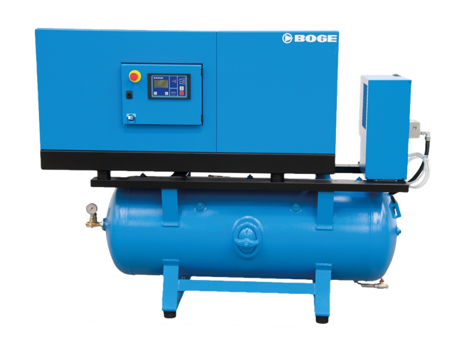 BOGE C15LDR-SS Screw Compressor