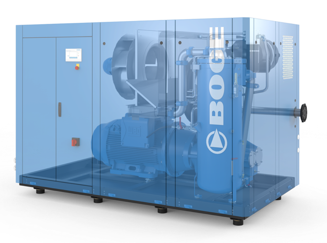 BOGE S111-4-LF Screw Compressor