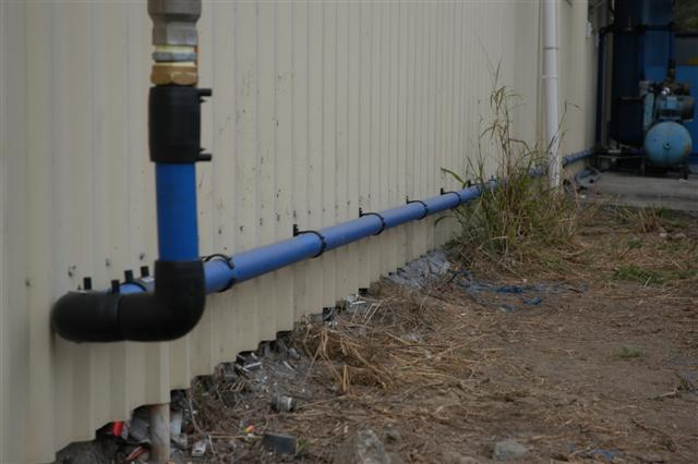 Maxair Air Line Installation Example #5