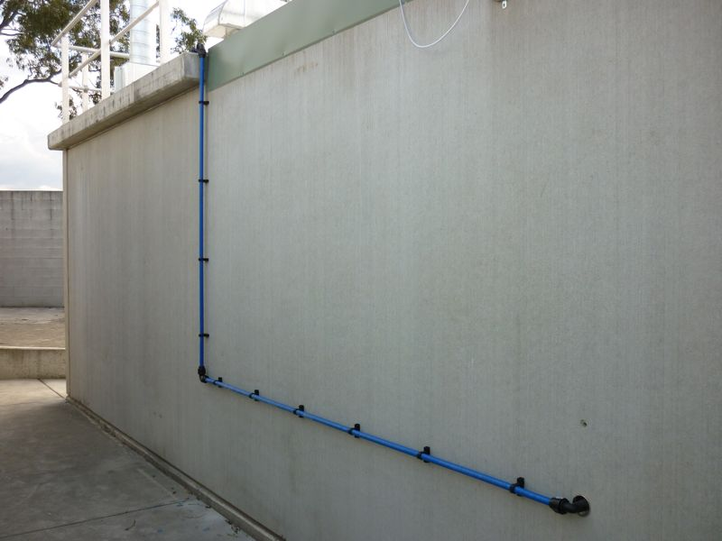 Maxair Air Line Installation Example #7